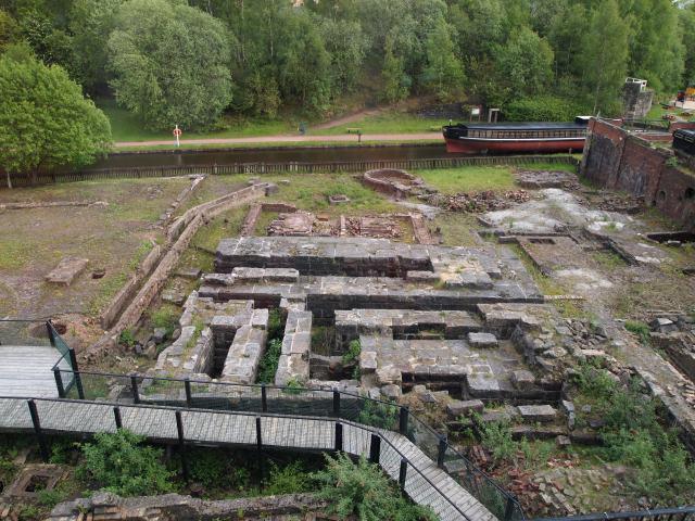 Ironworks foundations